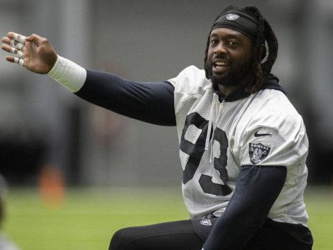 Raiders defensive tackle suspended for 6 games