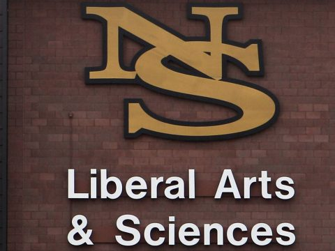The Liberal Arts and Science building is seen at the Nevada State College in Henderson, Friday, ...