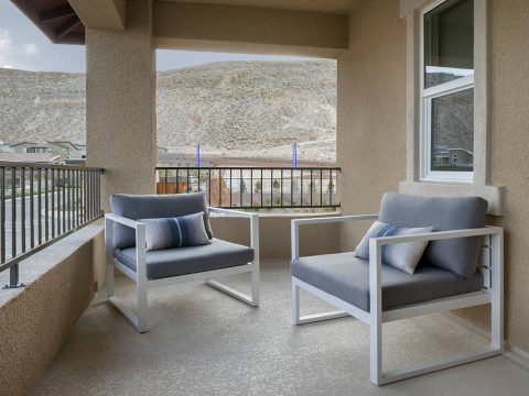 Plan Two at Jade Ridge by Taylor Morrison in The Cliffs village is one of several neighborhoods ...