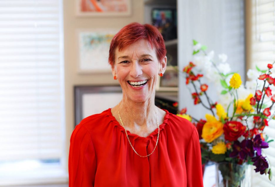 Beverly Rogers, philanthropist and chairman of the board for The Rogers Foundation, a local non ...