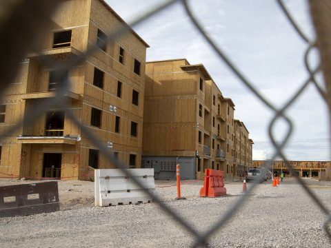 Alta Southern Highlands, an apartment complex under construction in Las Vegas' Southern Highlan ...