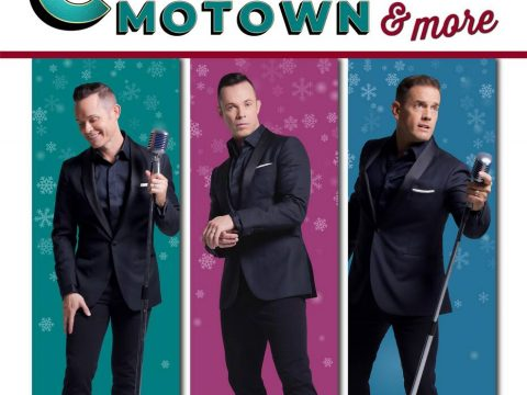"""A promotional image for Human Nature's """"Christmas, Motown and More"""" show at South Point Showroo ..."""