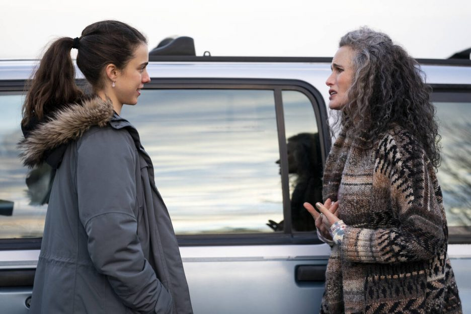 MAID (L to R) MARGARET QUALLEY as ALEX and ANDIE MACDOWELL as PAULA in episode 106 of MAID Cr. ...