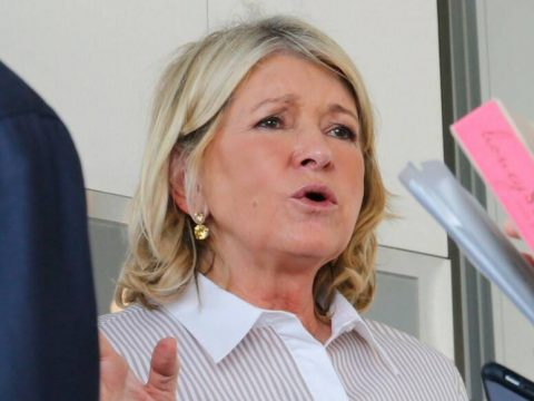 Martha Stewart talks with people during a Q&A session during the Martha Stewart Wine & Food Exp ...