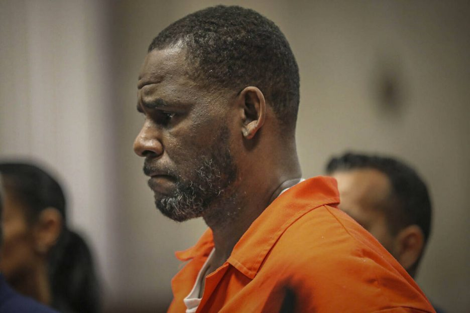 FILE - In this Sept. 17, 2019, file photo, R. Kelly appears during a hearing at the Leighton Cr ...